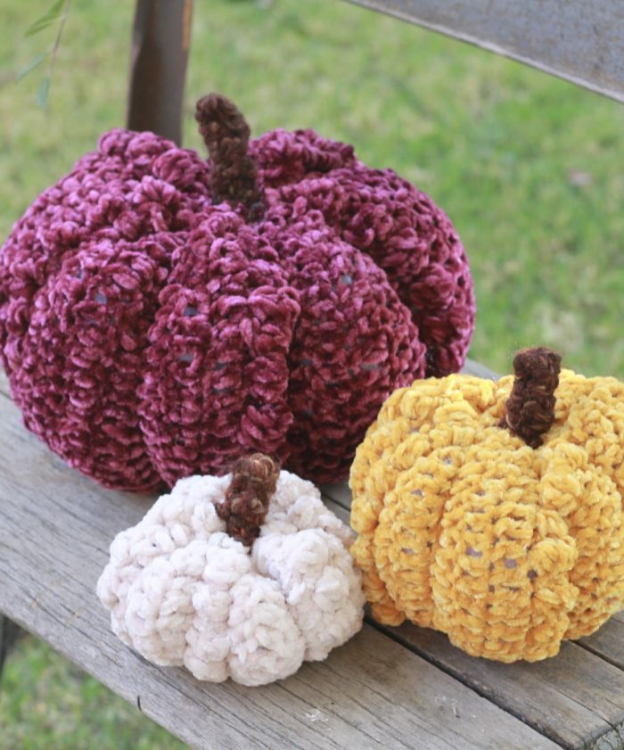 Jumbo Pumpkin~ free crochet pattern ~ | Crochet roundup, Halloween ... | 841x700